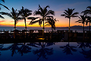 Sunset, Nuevo Vallarta, Bandera Bay,  Riviera Nayarit, Nayarit, Mexico, Marival Distinct Luxury Residences