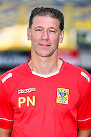 STVV's goalkeeper coach Patrick Nys poses for the photographer during the 2015-2016 season photo shoot of Belgian first league soccer team STVV, Friday 17 July 2015 in Sint-Truiden.