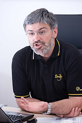 Interview with Roman Jakic, general manager of Zavod Tivoli,  on April 29, 2009, in Arena Tivoli, Ljubljana, Slovenia. (Photo by Vid Ponikvar / Sportida)
