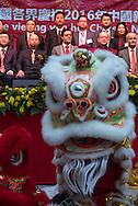 Foto: Gerrit de Heus. Den Haag. 13-02-2016. Landelijke viering Chinees Nieuwjaar. The Hague. February 2th 2016. Chinese New Year. The Hague. February 13th 2016. Chinese New Year.