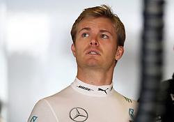 Mercedes' Nico Rosberg during practice at Yas Marina Circuit, Abu Dhabi.