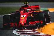June 7-11, 2018: Canadian Grand Prix. Kimi Raikkonen (FIN), Scuderia Ferrari, SF71H
