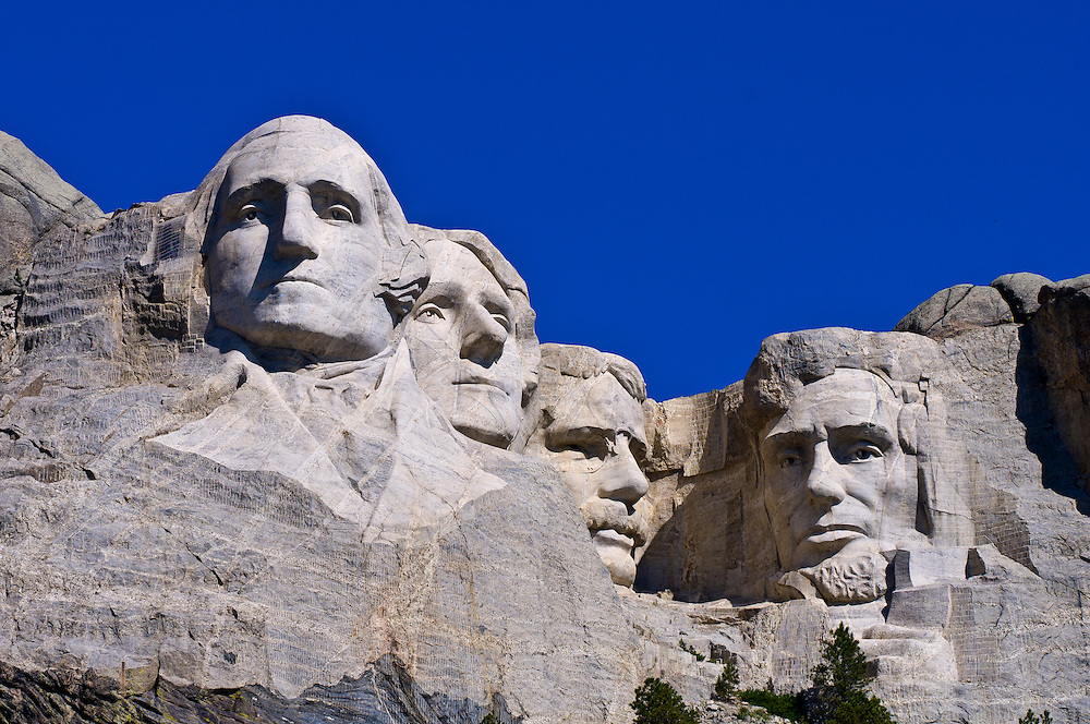 Mount Rushmore National Memorial, Black Hills, South Dakota USA