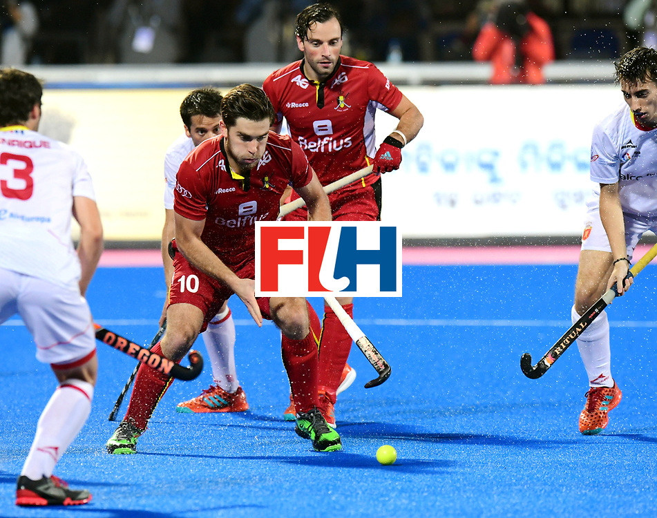 Odisha Men's Hockey World League Final Bhubaneswar 2017<br /> Match id:18<br /> Belgium v Spain<br /> Foto: Cedric Charlier (Bel) <br /> COPYRIGHT WORLDSPORTPICS FRANK UIJLENBROEK