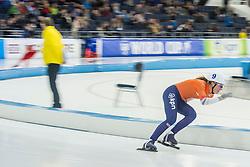 10-12-2016 NED: ISU World Cup Speed Skating, Heerenveen<br /> Massasprint vrouwen Annouk  van der Weijden #9