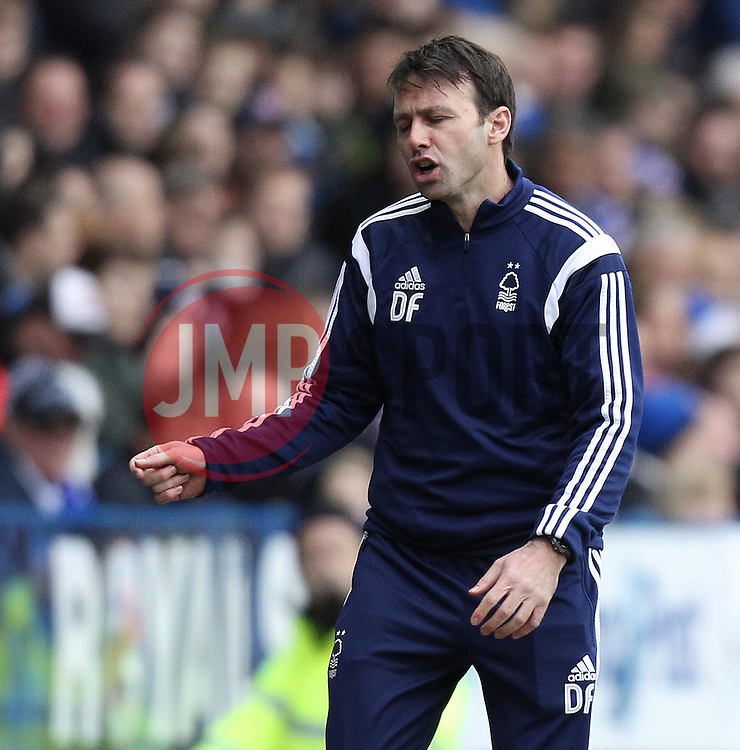 Nottingham Forest Manager Dougie Freedman - Photo mandatory by-line: Robbie Stephenson/JMP - Mobile: 07966 386802 - 28/02/2015 - SPORT - Football - Reading - Madejski Stadium - Reading v Nottingham Forest - Sky Bet Championship