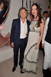 Leon & Yana Max at the Tatler's English Roses 2017 party in association with Michael Kors held at the Saatchi Gallery, London England. 29 June 2017.<br /> Photo by Dominic O'Neill/SilverHub 0203 174 1069 sales@silverhubmedia.com
