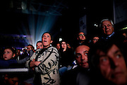 """Supporters during the first national Convetion of the """"Nuovo Centro Destra"""" party. Rome, 7 december 2013. Christian Mantuano / OneShot"""