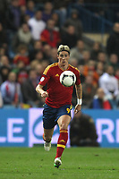 FOOTBALL - FIFA WORLD CUP 2014 - QUALIFYING - SPAIN v FRANCE - 16/10/2012 - PHOTO MANUEL BLONDEAU / AOP PRESS / DPPI - FERNANDO TORRES