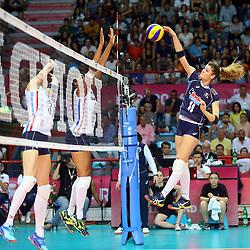 18-06-2016 ITA: World Grand Prix Italie - Nederland, Bari<br /> Nederland wint opnieuw van Italie, het ging moeizaam maar de 3-1 winst was genoeg / Cristina Chirichella #11 of Italie<br /> <br /> ***NETHERLANDS ONLY***