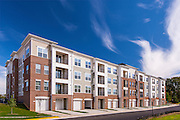 Exterior image of Riverwoods at Lakeridge apartments in Woodbridge Virginia by Jeffrey Sauers of Commercial Photographics, Architectural Photo Artistry in Washington DC, Virginia to Florida and PA to New England