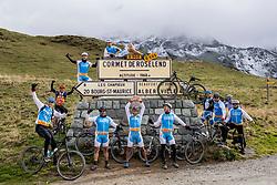 16-09-2017 FRA: BvdGF Tour du Mont Blanc day 7, Beaufort<br /> De laatste etappe waar we starten eindigen we ook weer naar een prachtige route langs de Mt. Blanc / Team Blue