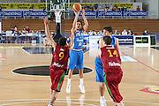 DESCRIZIONE : Trento Torneo Internazionale Maschile Trentino Cup Italia Portogallo Italy Portugal<br /> GIOCATORE : Luca Vitali<br /> SQUADRA : Italia Italy<br /> EVENTO : Raduno Collegiale Nazionale Maschile <br /> GARA : Italia Portogallo Italy Portugal<br /> DATA : 27/07/2009 <br /> CATEGORIA : tiro<br /> SPORT : Pallacanestro <br /> AUTORE : Agenzia Ciamillo-Castoria/G.Ciamillo
