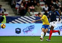 International Women's Friendly Matchs 2018 / <br /> France v Brazil 3-1 ( Allianz Riviera Stadium - Nice,France ) - <br /> Darlene Reguera of Brazil (L) ,challenge with Griedge Mbock Bathy of France (R)