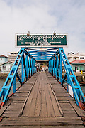 Kawthaung, Myanmar. Port of the Meta IV, Mergui Archipelago.