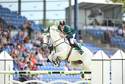 Allen Bertram, (IRL), Molly Malone V<br /> Team Competition round 1 and Individual Competition round 1<br /> FEI European Championships - Aachen 2015<br /> © Hippo Foto - Stefan Lafrentz<br /> 19/08/15