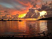 Malaysia at sunset. Photo by John Lill