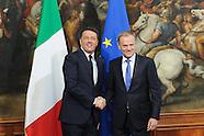 20160506 -Matteo Renzi incontra il presidente del Consiglio europeo, Donald Tusk.