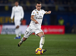 January 3, 2019 - Villarreal, Castellon, Spain - Lucas Vazquez of Real Madrid shooting to goal during the week 17 of La Liga match between Villarreal CF and Real Madrid at Ceramica Stadium in Villarreal, Spain on January 3 2019. (Credit Image: © Jose Breton/NurPhoto via ZUMA Press)