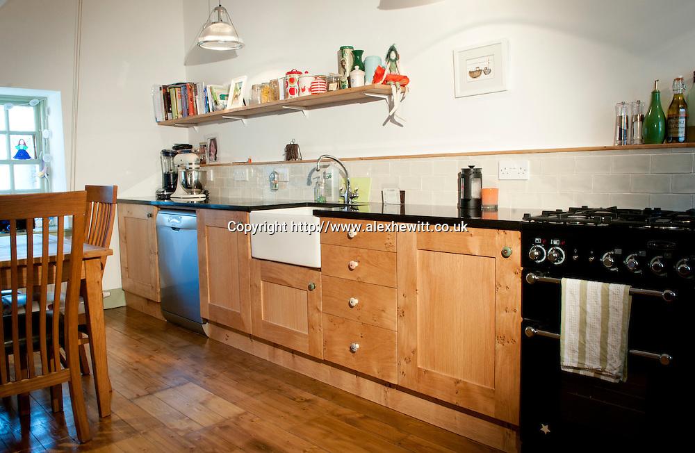Pete Hewitt Woodwork.Newhaven Kitchen, Edinburgh..pic Alex Hewitt.alex.hewitt@gmail.com.07789 871540