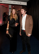 SARAH MCDONALD; NOEL GALLAGHER, GQ Men of the Year 2010. the Royal Opera House. Covent Garden. London. 7 September 2010. -DO NOT ARCHIVE-© Copyright Photograph by Dafydd Jones. 248 Clapham Rd. London SW9 0PZ. Tel 0207 820 0771. www.dafjones.com.