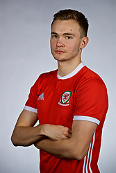 NANNING, CHINA - Saturday, March 24, 2018: Wales' Ryan Hedges during a squad photo shoot at the Wanda Realm Hotel on day five of the 2018 Gree China Cup International Football Championship. (Pic by David Rawcliffe/Propaganda)