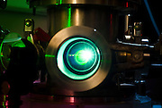 Plasma Generado por Pulso Laser (Nd:YAG). Laboratorio del Profesor Mario Favre en el Departamento de Física de la Pontificia Universidad Católica de Chile. Santiago, Chile. 18-01-2012 (©Alvaro de la Fuente/TRIPLE)