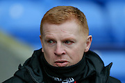 Bolton Wanderers First Team Manager Neil Lennon during the Sky Bet Championship match between Bolton Wanderers and Milton Keynes Dons at the Macron Stadium, Bolton, England on 23 January 2016. Photo by Simon Davies.