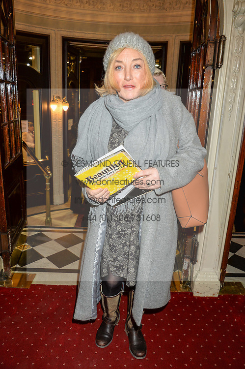 KELLIE MALONEY at Beautiful - The Carole King Musical 1st Birthday celebration evening at The Aldwych Theatre, London on 23rd February 2016.