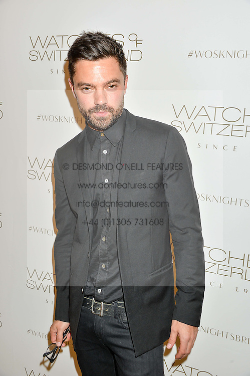 DOMINIC COOPER at a party to celebrate the launch of the new Watches of Switzerland Knightsbridge store 47-51 Brompton Road, London on 7th July 2016.