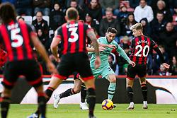 Sead Kolasinac of Arsenal is challenged by David Brooks of Bournemouth - Rogan/JMP - 25/11/2018 - FOOTBALL - Vitality Stadium - Bournemouth, England - Bournemouth v Arsenal - Premier League.