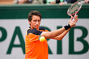 Paris, France. Roland Garros. May 27th 2013.<br /> Ukrainian player Sergiy STAKHOVSKY AGAINST Richard GASQUET