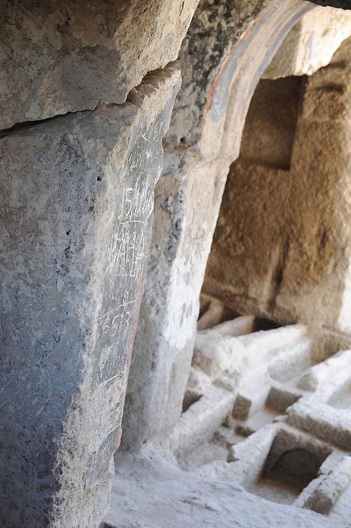 Church caves Sille Turkey