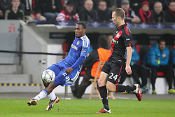 23.11.2011, BayArena, Leverkusen, Germany, UEFA CL, Gruppe E, Bayer 04 Leverkusen (GER) vs Chelsea FC (ENG), im Bild Daniel Sturridge (Chelsea #23) gegen Michal Kadlec (Leverkusen #24) // during the football match of UEFA Champions league, group E, between Bayer Leverkusen (GER) and FC Chelsea (ENG) at BayArena, Leverkusen, Germany on 2011/11/23.EXPA Pictures © 2011, PhotoCredit: EXPA/ nph/ Mueller..***** ATTENTION - OUT OF GER, CRO *****