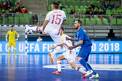Joselito of Spain during futsal match between National teams of Ukraine and Portugal at Day 6 of UEFA Futsal EURO 2018, on February 4, 2018 in Arena Stozice, Ljubljana, Slovenia. Photo by Urban Urbanc / Sportida