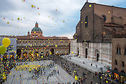 Charity event in Piazza Maggiore (Bologna).<br /> 10th classified in the Italian section of the Wiki Loves Monuments contest 2016.