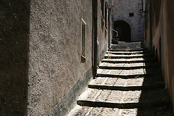 Medieval town of Erice, near Trapani, Sicily, Italy