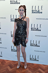 OLGA KURYLENKO at the 17th Elle Style Awards 2014 in association with Warehouse held at One Embankment, 8 Victoria Embankment, London on 18th February 2014.