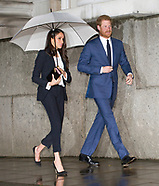 Meghan Markle & Prince Harry Attend Endeavour Awards