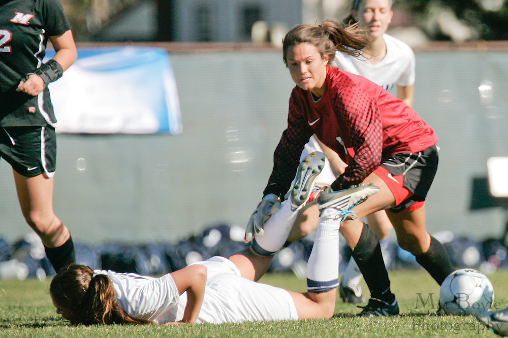 during the first round of the NCAA Division 3 Women's Soccer tournament held at Rowan University in Glassboro, NJ on Saturday November 13, 2010.
