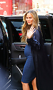 March 1, 2016 - New York, New York, U.S. - <br /> <br /> Model CHRISSY TEIGEN enters a private car after an appearance at 'Good Morning America.' <br /> ©Exclusivepix Media