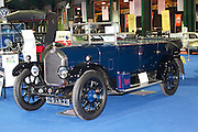 RIAC Classic Car Show 2013, RDS, 1925 Humber 12/25 Open Tourer. Owner: Harry Cole. The car reflects Humbers policy of producing cars of the highest quality for a discerning clientele, Irish, Photo, Archive.