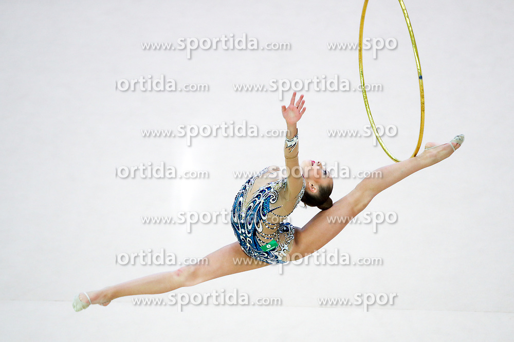 Polina Orlova (RUS) competes during 31st MTM - International tournament in rhythmic gymnastics Ljubljana, on April 7, 2018 in Gymnastics center Ljubljana, Ljubljana, Slovenia. Photo by Matic Klansek Velej / Sportida