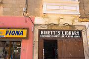 Binett's Library, Stations, Booksellers & News Agents. Bookshop, Sliema, Malta