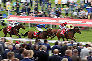 UAE PRINCE (2) ridden by Andrea Atzeni and trained by Roger Varian winning The Matchbook Best Value Exchange Handicap Stakes over 1m 2f (£30,000)  during the third day of the Dante Festival at York Racecourse, York, United Kingdom on 17 May 2019.