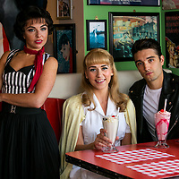 Theatre Royal Grease promo shots 2017