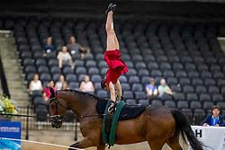 Noel Manon, FRA, Kirch de la Love, Lunger Moneuse Kévine<br /> World Equestrian Games - Tryon 2018<br /> © Hippo Foto - Stefan Lafrenz<br /> 19/09/18