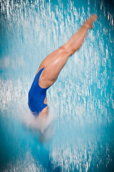 19.05.2012, Pieter van den Hoogenband Swimming Stadium, Eindhoven, NED, LEN, Turmspring Europameisterschaft 2012, Damen 3 Meter Springbrett, im Bild Anna Lindberg (SWE) // during Women's 3m springboard - preliminary of LEN Diving European Championships at Pieter van den Hoogenband Swimming Stadium, Eindhoven, Netherlands on 2012/05/19. EXPA Pictures © 2012, PhotoCredit: EXPA/ Insidefoto/ Giorgio Perottino..***** ATTENTION - for AUT, SLO, CRO, SRB, SUI and SWE only *****