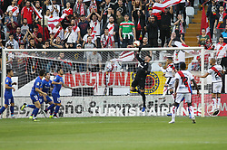 October 24, 2018 - Madrid, Madrid, SPAIN - Herrerin of Athletic de Bilbao in action during the spanish league, La Liga, football match between Rayo Vallecano and Athletic de Bilbao on October 24, 2018 at Estadio de Vallecas in Madrid, Spain. (Credit Image: © AFP7 via ZUMA Wire)