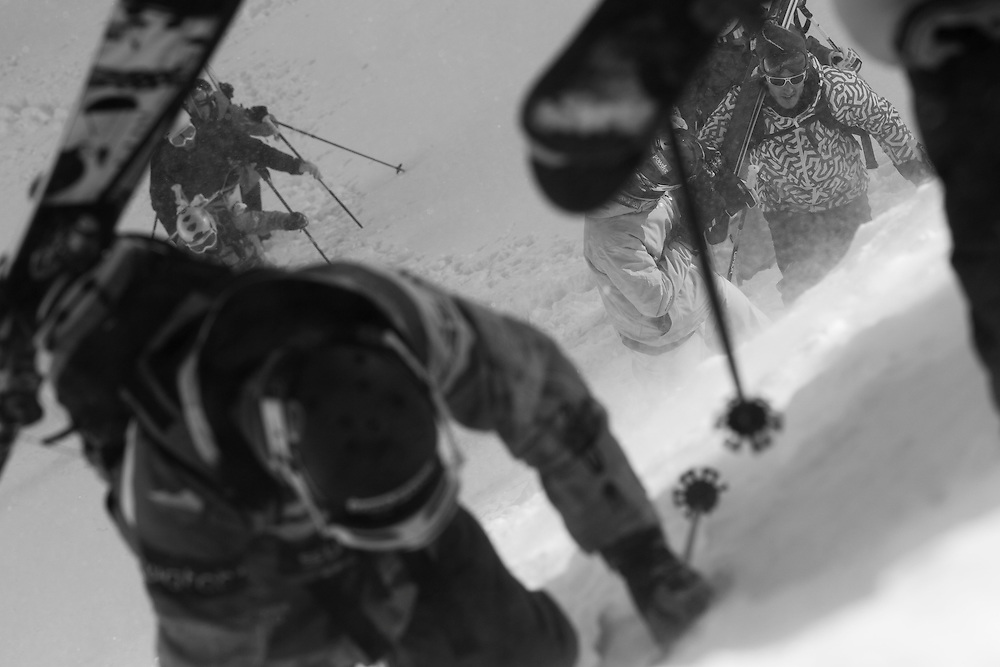 EVENT: NISSAN FREERIDE ENGADIN ST. MORITZ 2011 BY SWATCH, STYLE: LIFESTYLE > STYLE.Freeride World Tour 2011 - Six locations around the world, Chamonix Mont-Blanc, Engadin St Moritz, Sochi, Kirkwood, Fieberbrunn and Verbier have been selected for the 4th edition of the Freeride World Tour..The planet's top freeride skiers and snowboarders, men and women travel around the world to prove their skills on some of the most challenging faces..www.freerideworldtour.com